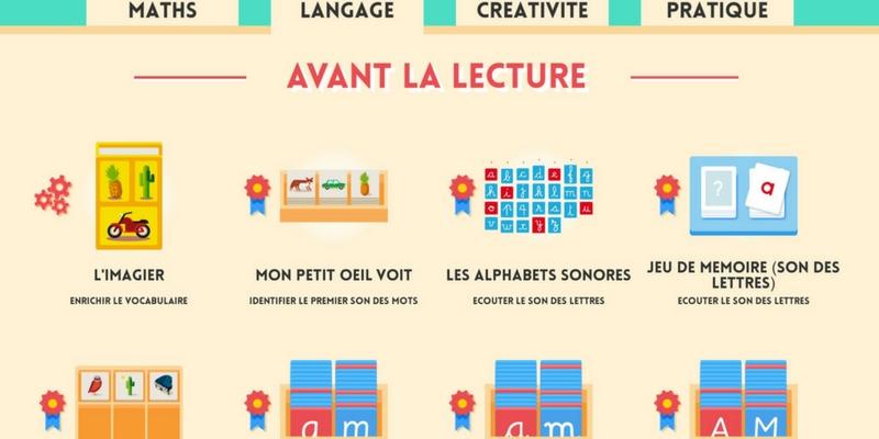 Maternelle Montessori Pour Jouer Et Apprendre App Enfant