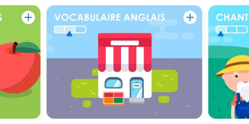 Maternelle Montessori vocabulaire apprendre une langue etrangere