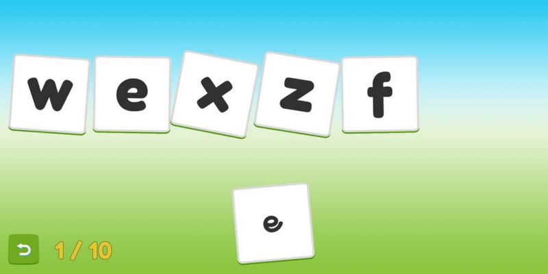 maternelle Servane apprendre les lettres scripts