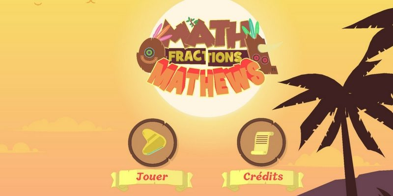 Math Mathews fractions application calcul