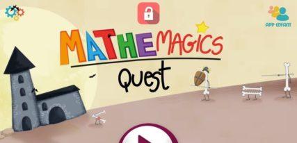Mathemagics quest application enfant