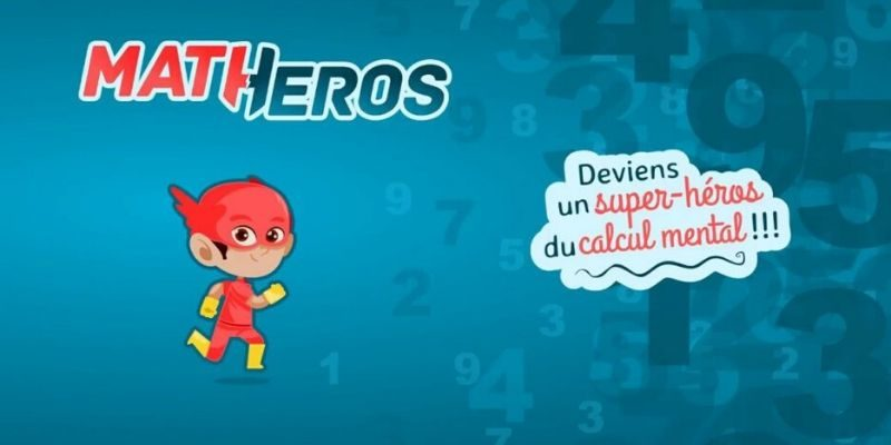 Matheros super héros calcul mental home