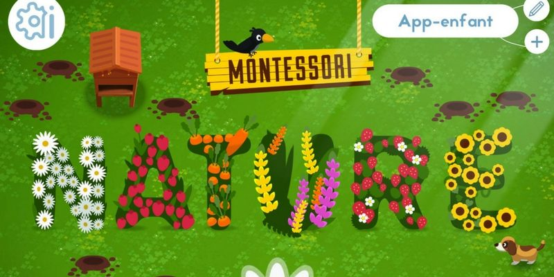 Montessori nature application
