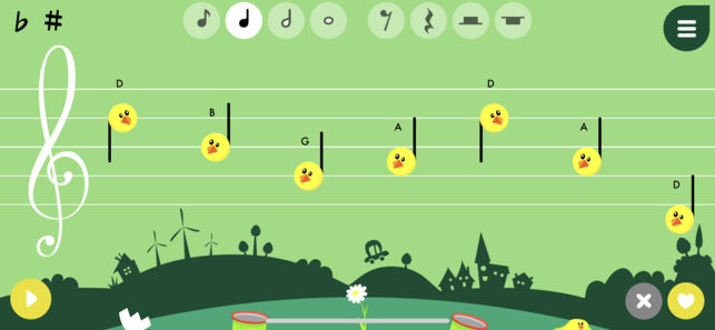 Music4kids application music app-enfant