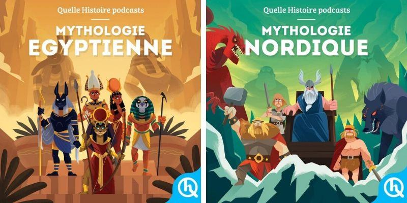 Mythes et légendes nordiques et egyptiennes