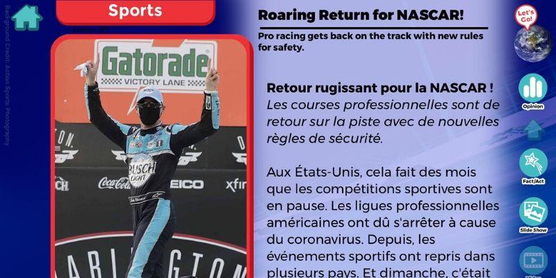 News-O-Matic article sport