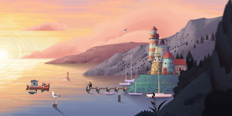 Old man's journey lac