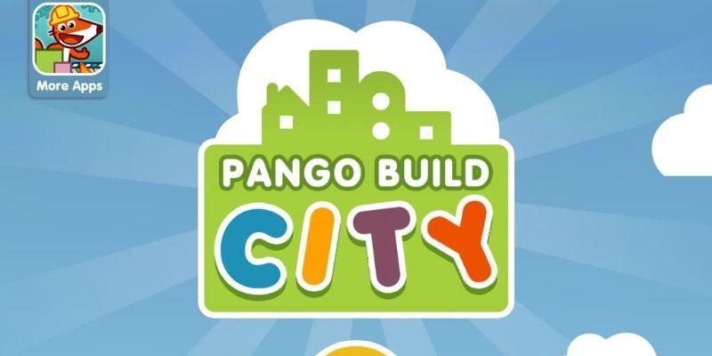 Pango Build City créativité app-enfant
