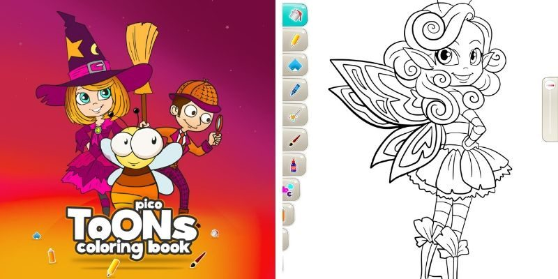 PicoToONS application de coloriage