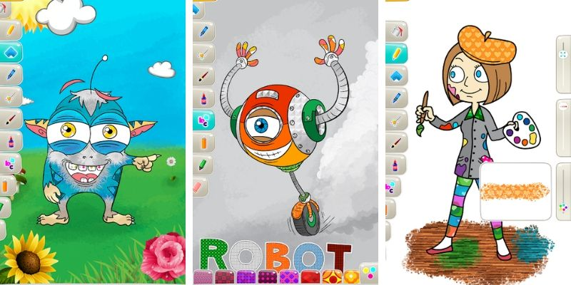 PicoToONS dessin application de coloriage en ligne