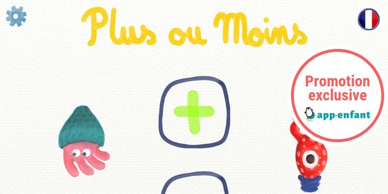 Plus ou moins Marbotic app-enfant promotion