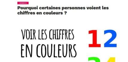 Podcast de culture générale Choses à savoir chiffres couleurs
