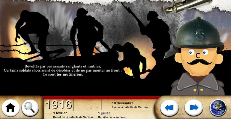 première guerre mondiale frise