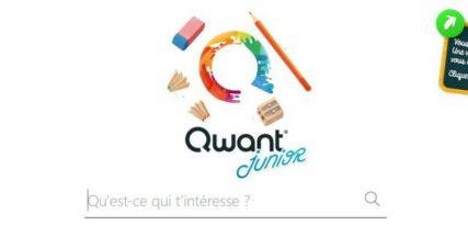 qwant junior moteur de recherche