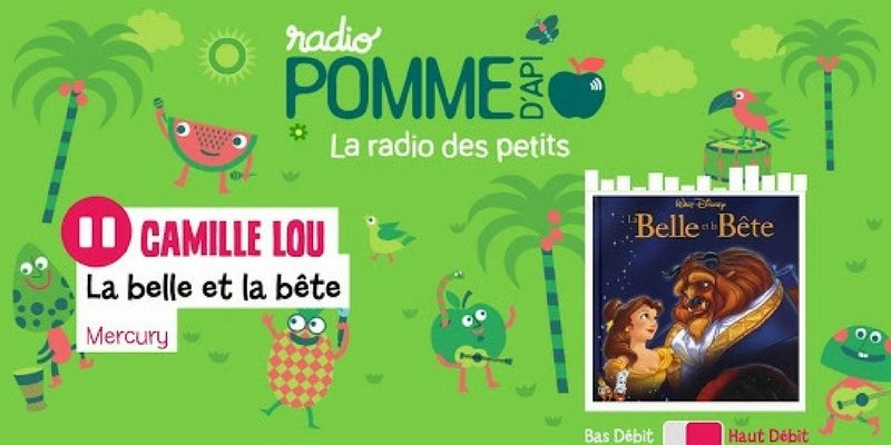 Radio Pomme d'api app enfant