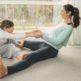 Rester serein en faisant du sport avec les enfants à la maison