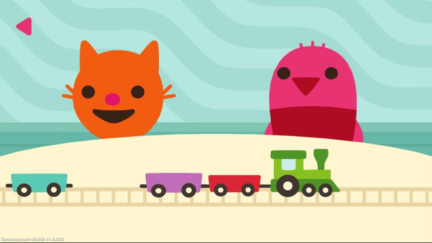 Le Monde de Sago Mini - trains