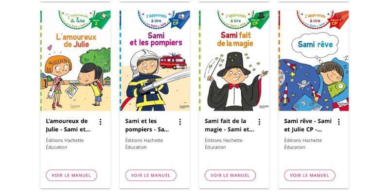 Sami et Julie des livres en accès gratuit pour apprendre à lire