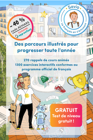 Savio pop-up mars français