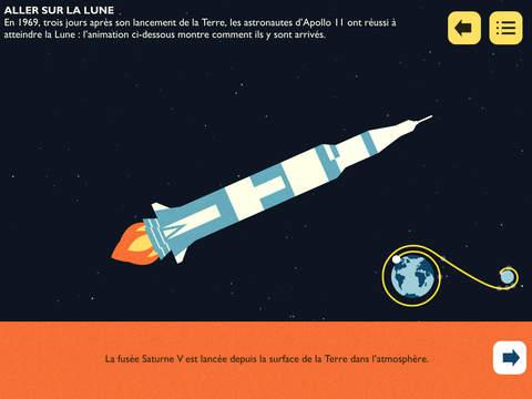 astro cat fusée lune