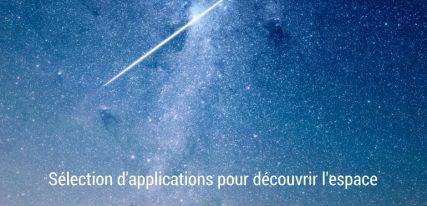 Sélection d'applications espace