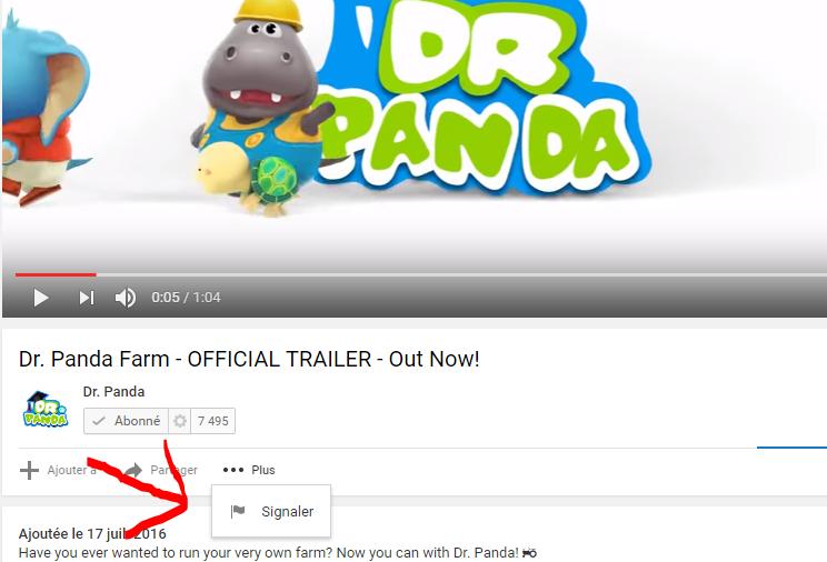youtube contrôle parental signaler un contenu