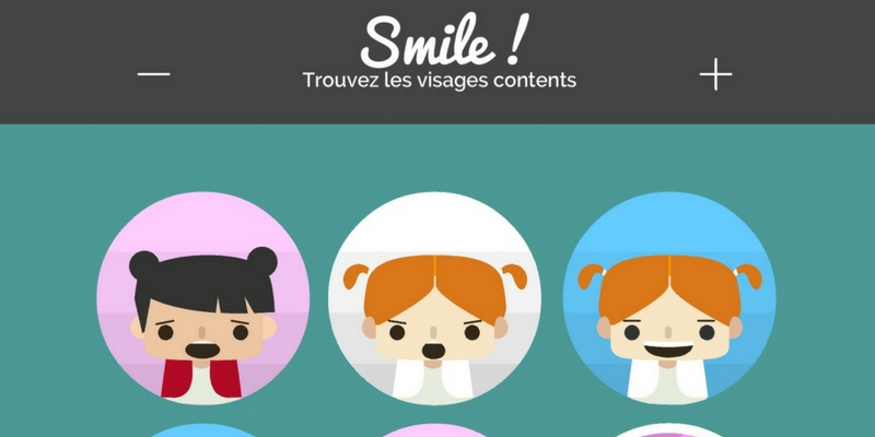 smile! visages contents