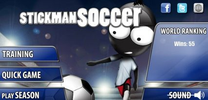 Stickman soccer app foot