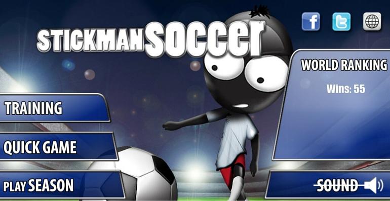 Stickman soccer app foot