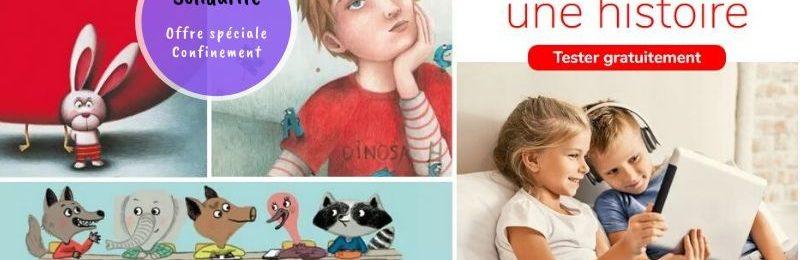 StoryPlayr application enfant histoire solidarité