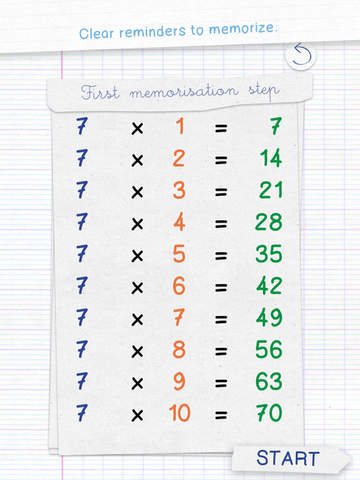 Tables de multiplication drawnies app enfant - Application pour apprendre les tables de multiplication ...