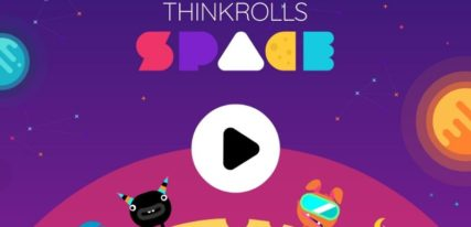 Thinkrolls space application logique enfants