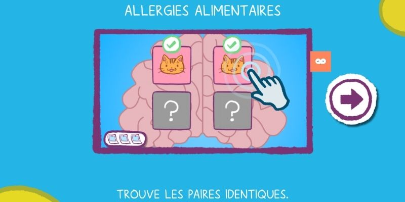 TiDoc memory allergies alimentaires