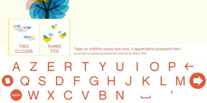 Tip tap imagier interactif anglais