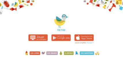 Tip tap imagier interactif enfant gratuit