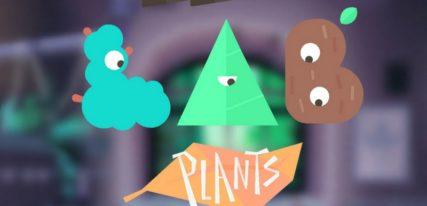 Toca lab plants appli enfant