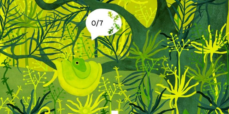 Under leaves application d'observation serpent