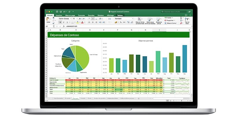 Microsoft Excel iOS et Android
