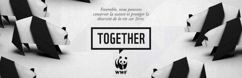 WWF Together application sur les animaux en voie de disparition