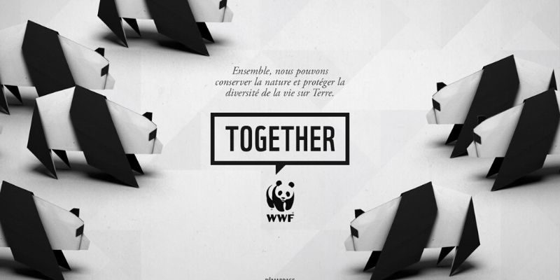 WWF Together application sur les animaux en voie de disparition