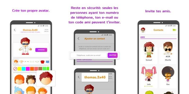 Xooloo Messenger app messagerie instantanée enfant